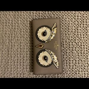 Kate Spade ♠️ Owl Wallet